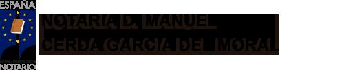 Notaria Manuel Cerda Garcia Del Moral
